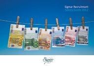 Sigmar Recruitment Salary Guide 2012
