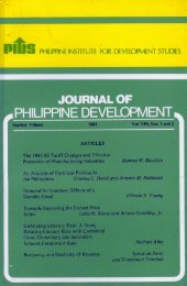 Untitled - Philippine Institute for Development Studies