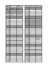 Terminplan 2012/13