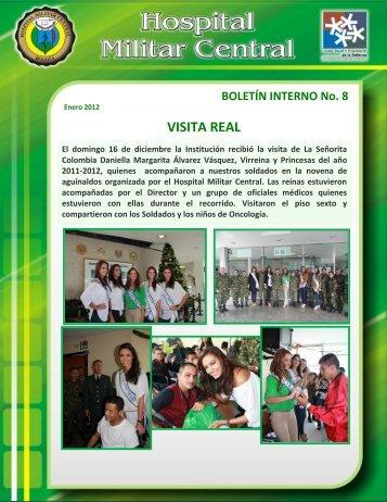 VISITA REAL - Hospital Militar