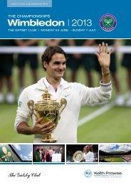 Wimbledon | 2013 - Keith Prowse