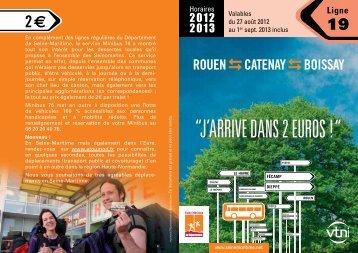 Ligne 19 - Département de Seine-Maritime