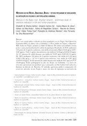 Mercúrio no rio Negro, Amazonas, Brasil - Instituto de Estudos em ...