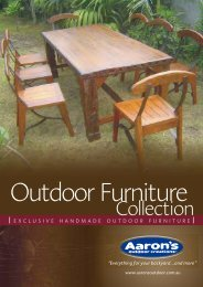 Outdoor Furniture 4pp Brochure.cdr - Backyard Inspirations