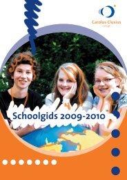 Schoolgids 2009-2010 - Carolus Clusius College