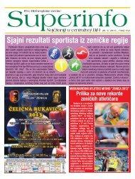 Sjajni rezultati sportista iz zeničke regije - Superinfo