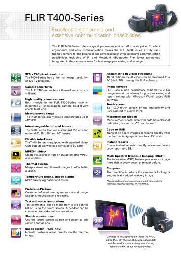 ultraprobe 100 alpine components FLIR Camera T400 flir t440 manual