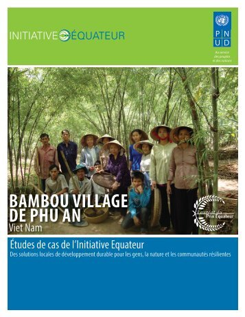 BAMBOU VILLAGE DE PHU AN - Equator Initiative
