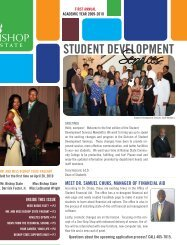meet dr. samuel chuks, manager of financial aid - Bishop State ...