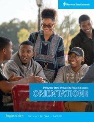 What is Project Success New Student Orientation? - Delaware State ...