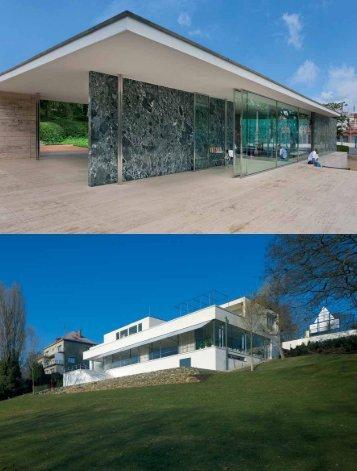 mies van der rohe - práce pro brno a barcelonu - Architekt