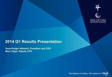 Millicom_Presentation_Q1_2014