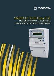 SAGEM CX 3500 Class 0.5S