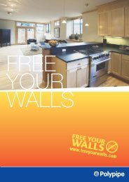 Free your walls - Polypipe