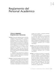 Reglamento del Personal Académico - Universidad Autónoma de ...