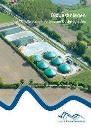 Biogasanlagen - Ultrawaves