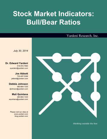 Stock Market Indicators: Bull/Bear Ratios