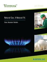 Natural Gas. A Natural Fit. - Viridian