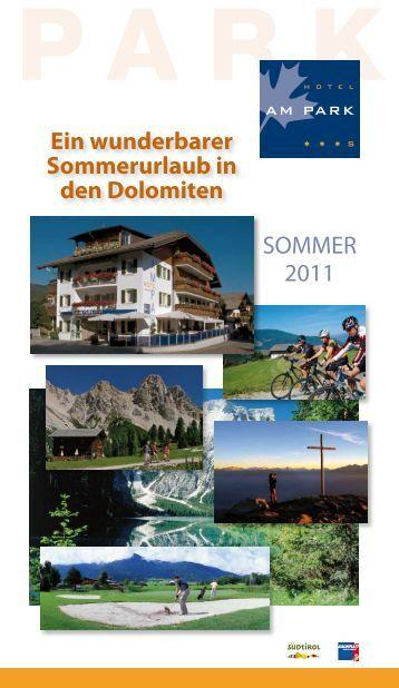 Preise Sommer 2011 - Hotel am Park
