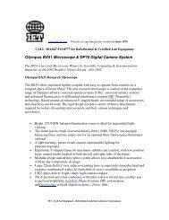 Olympus BX51 Microscope & DP70 Digital Camera System