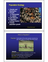 (Microsoft PowerPoint - 2MB_IMES-Population ... - General Ecology