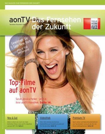 Top-Filme auf aonTV aonTV Das Fernsehen der Zukunft