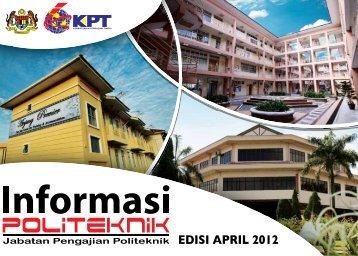 Informasi JPP Edisi April 2012 - Jabatan Pengajian Politeknik