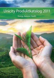 Unicity Produktkatalog 2011
