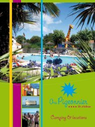 Camping & locations - Au Pigeonnier