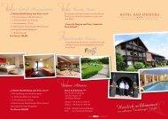 7 Nächte Bad Driburg zum Preis  von 6 - Hotel Bad-Driburg