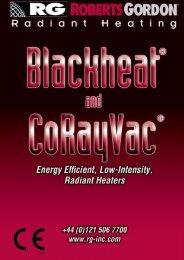 ROBERTS GORDON® Radiant Heaters Help Reduce Energy Bills ...