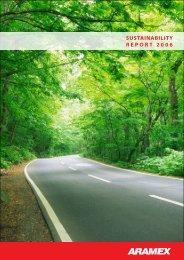 Aramex Sustainability Report 2006