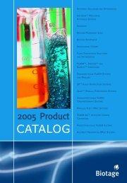 Biotage Datasheet (pdf) - Artisan Scientific
