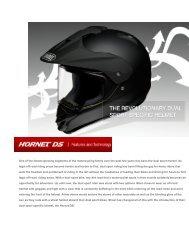 Shoei-Hornet DS.pdf - McLeod Accessories