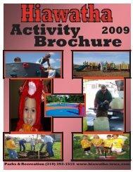 Parks & Recreation (319) 393-1515 www ... - City of Hiawatha