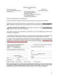 REQUEST FOR PROPOSALS RFP Issue Date: 10/03/2010 ... - SALT