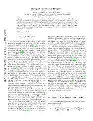arXiv:cond-mat/0310441 v1 19 Oct 2003
