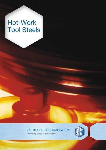 Hot-Work Tool Steels - Deutsche Edelstahlwerke GmbH