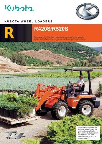 R420S Articulated Wheel Loader - LiveUpdater