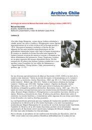 Antología de textos de Manuel Sacristán sobre ... - Archivo Chile