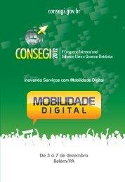 V CONSEGI 2012 - Mobilidade Digital - Funag