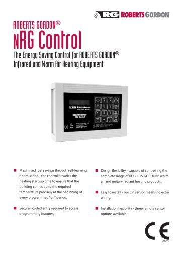 Roberts gordon ® blackheat ® radiant heater literature downloads.