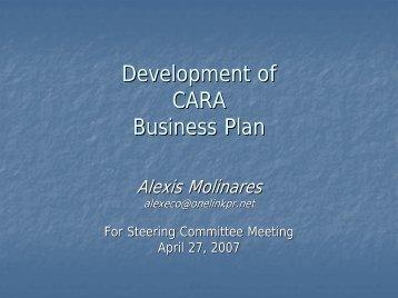 draft-business-plan-alexis - CaRA