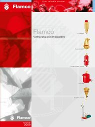 Venting range and dirt separators - Flamco