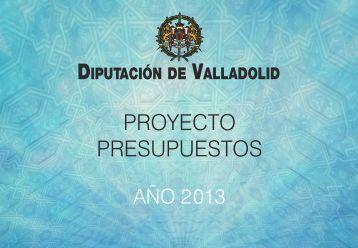 Proyecto Presupuestos 2013