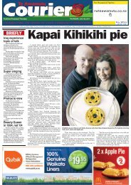 Te Awamutu Courier - July 28th, 2011 - Te Awamutu Online