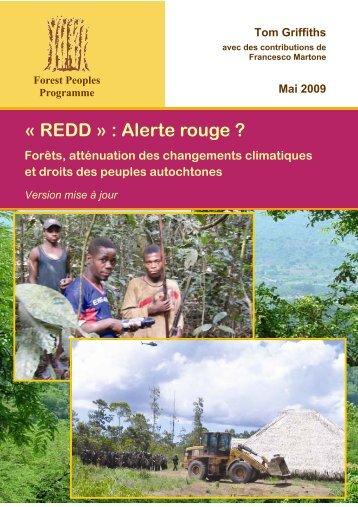 « REDD » : Alerte rouge ? - Forest Peoples Programme