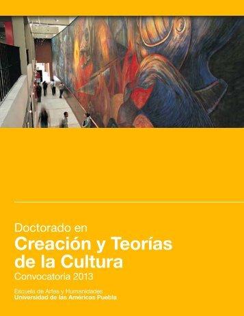 Doctorado en Creación y Teorías de la Cultura