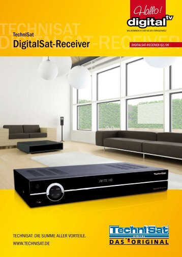 DIGITALSAT-RECEIVER TECHNISAT TechniSat DigitalSat-Receiver