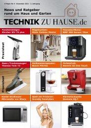 e-paper 4-2011 - Technik zu Hause